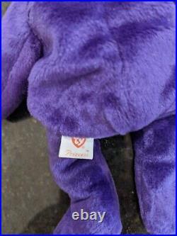 Princess Diana Beanie Baby 1st edition 1997 with rare tag error MWMT