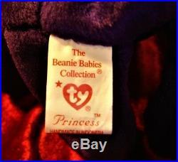 Princess Diana Rare Beanie Baby 1997 Rare