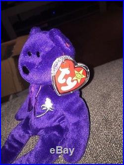8106f927515 Princess diana TY beanie baby rare limited edition 1997 tag on inside  401