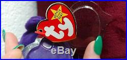 Princess the Bear Princess Diana Beanie Baby Ty withPVC Pellets & NoSpace Tag Rare
