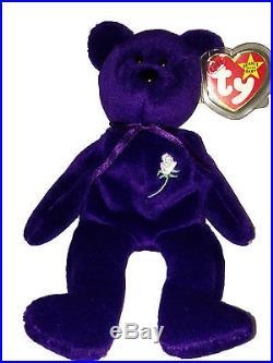 b3ead637c51 RARE Authentic 1st Edition Princess Diana 1997 Retired Beanie Baby PVC  Pellets