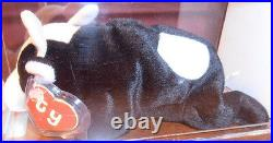 RARE! Authenticated TY 2nd gen DAISY Beanie Baby 2nd gen hang / 1st gen tush