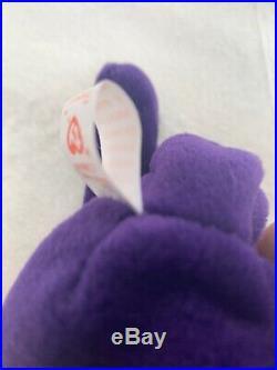 RARE EDITION RETIRED 1997 Princess Diana Ty Beanie Babies MINT, PVC, NO SPACE