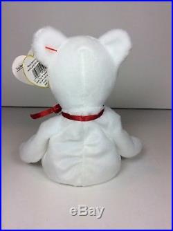 RARE ERRORS SWING TAG THREADS PVC TUSH VALENTINO 1993 1994 TY INC Beanie Baby