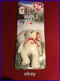RARE McDonald's International Ty Teanie Beanie Baby ERROR Collection
