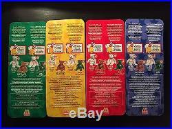 RARE! McDonalds Ty Beanie Babies Canadian Edition, Maple, Glory, Erin, Britannia