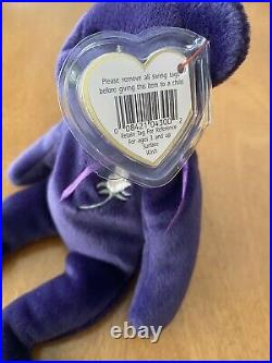 RARE Princes Diana 1997 Beanie Baby Bear Authentic Perfect Condition Tag #472