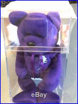 RARE Princess Diana Beanie Baby- AUTHENTICATED! MUSEUM Quality
