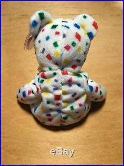 RARE TY Beanie Baby TY 2K the Bear 2000 with ERRORS