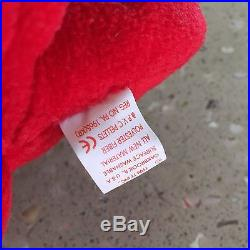 RARE TY Rover Beanie Baby, Retired, Original with many ERRORS