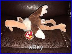 RARE TY Stretch BEANIE ORIGINAL BABY 1997 New