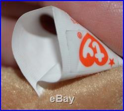 RARE Ty 4001 Bones Beanie Baby Tush Tag 1993 PVC Pellets Errors