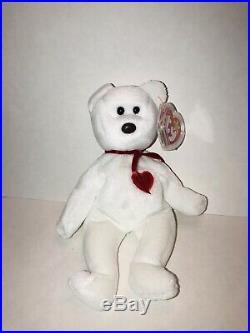 RARE VALENTINO Beanie ORIGIINAL Baby with ERRORS PVC