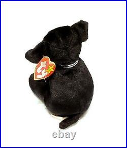 RARE VINTAGE TY Beanie Baby Luke the Puppy 1999 Retired ERRORS