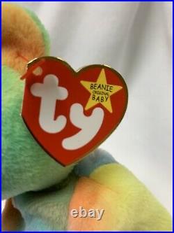 RARE ty BEANIE BABY PEACE-MINT with 5 MAJOR ERRORS