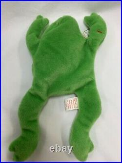 RARE ty Beanie Baby LEGS-MINT with 7 MAJOR ERRORS