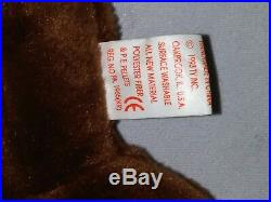 RETIRED Ty Beanie Baby CHOCOLATE MOOSE NO ERRORS With Tags RARE PERFECT