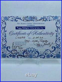 Rainbow & Iggy Beanie Baby Combo Rare and Certified