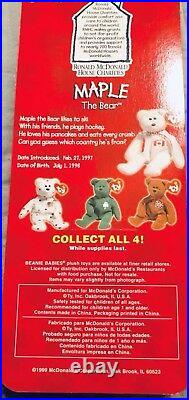 Rare 1993 McDonalds Ty Beanie Baby WithRare Errors (1993 & OakBrook)
