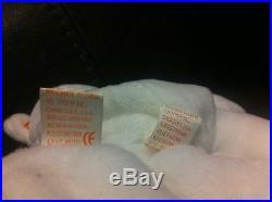 Rare 1993 Vintage Valentino Ty Beanie Babies NWT-Mispelled Tag and PVC