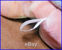 Rare 1996 Peace Bear Ty Beanie Baby New Retired First P. E Version- Many Errors