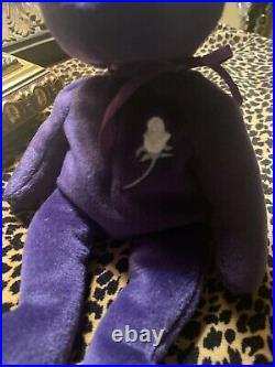 Rare 1st Edition Ty Princess Diana Beanie Baby (P. V. C. Pellets, Made in China)