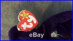 Rare 1st Generation Ty Princess Diana Beanie Baby Retired WithTags