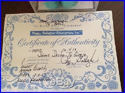 Rare HTF Ty Sweet Sasha Michelle Obama Inaugural DNC Doll Authenticated Sealed