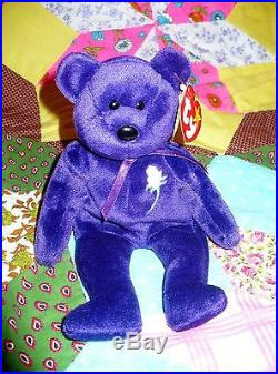 1ade9006ba1 Rare MUSEUM Mint 1st Edition Princess Diana 1997 Retired Beanie Baby NO  SPACE