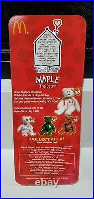Rare Mcdonalds TY Beanie Baby Set Collect All Four
