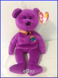 Rare Millenium Ty Beanie Baby Tags Attached With Errors Great Condition ecaa6d6bd9cc