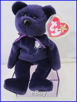 6af42aa61a9 Rare Mint 1st Edition Princess Diana 1997 Retired Beanie Baby China PE No  Space