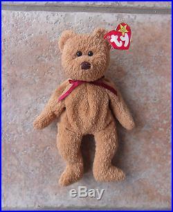 615bb156459 Rare Multiple Error Ty Original Beanie Baby Curly 1996   1993