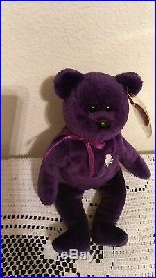 Rare Princess Diana Beanie Baby ghost edition space Indonesia