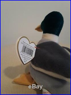 Rare TY Beanie Babies Jake New with all original tags with errors. Retired