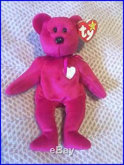 a63401822e3 Rare TY Beanie Babies Valentina With Tag 1998 1999 Date Error