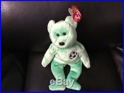 Rare Ty Beanie Babies Kicks With Tag Errors