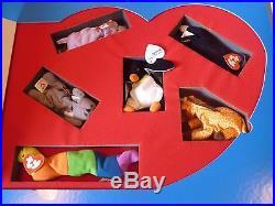 Rare Ty Beanie Babies MC Donald's Presentation Case, 10 Babies Certificate, No 245