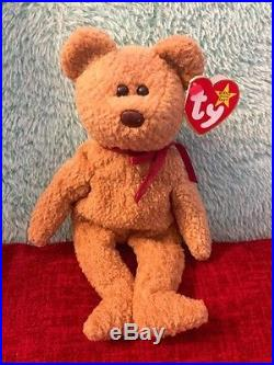 Rare Ty Beanie Baby (MINT) Curly with many errors