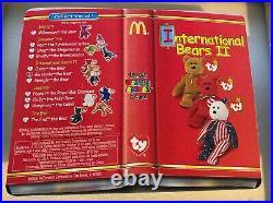 Rare Ty Beanie Germania The Bear International Bears II Mcdonalds