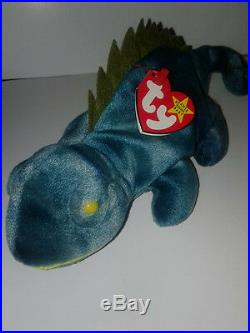 Rare Ty IGGY Beanie Baby PERFECT CONDITION