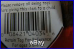 Rare Ty Original Beanie Babies Gobbles The Turkey/Retired Errors Mint