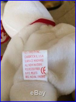 ffa03aedcb8 Rare Ty Valentino Beanie Baby with Tag Errors and Ty Cover up