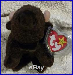 Rare Vtg 6 Error 1998 TY Beanie Babies Roam Stuffed Toy Plush Buffalo Finance