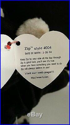 Rare Zip Beanie Baby