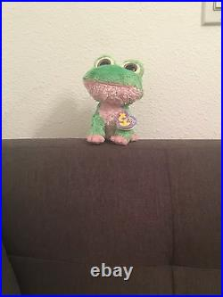 Rare retired TY Beanie Boos KIWI the Frog 2009 new with mint tags