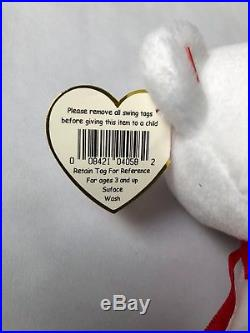 SALE ONE DAY ONLY! RARE Valentino Beanie Baby w TAG ERRORS ORIGIINAL