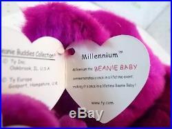 Super Rare Large Millennium 15and 3pc 9 Millennium Ty Beanie Babies
