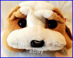 TY 1996 Wrinkles Beanie Baby Very Rare Retired with Error in Poem and Tush Tag