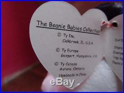 TY BEANIE BABY Beanie Babies Original 1999 SPANGLE ERROR, AUTHENTIC, RARE